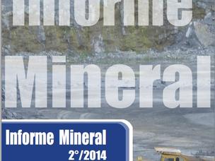 DNPM PUBLICA O INFORME MINERAL DO SEGUNDO SEMESTRE DE 2014