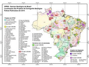 CPRM LANÇA NOVOS PRODUTOS DE CARTOGRAFIA GEOLÓGICA