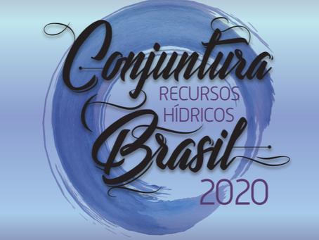 CONJUNTURA 2020 TRAZ DADOS QUE SERVIRÃO DE BASE TÉCNICA PARA NOVO PLANO NACIONAL DE RECURSOS HÍDRICO