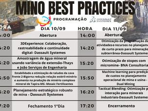 MINO BEST PRACTICES - EDIÇÃO: PLANEJAMENTO DE LAVRA A CÉU ABERTO E SUBTERRÂNEA.