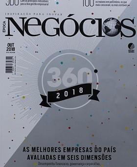 REVISTA ÉPOCA NEGÓCIOS COLOCA CPRM ENTRE AS MELHORES EMPRESAS DO PAÍS