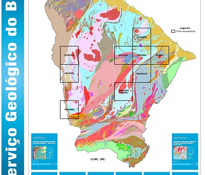 SERVIÇO GEOLÓGICO DO BRASIL FINALIZA MAPEAMENTO GEOLÓGICO DE 27 MIL KM² NO ESTADO DO CEARÁ