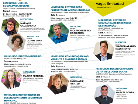 CAPACITE-SE COM OS MINICURSOS DA EXPOSIBRAM 2020 (100% ONLINE)