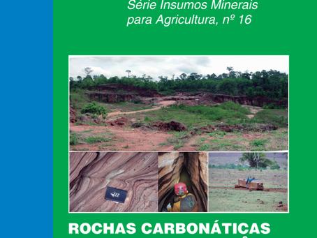 CPRM PUBLICA: ROCHAS  CARBONÁTICAS DO ESTADO DE RONDÔNIA