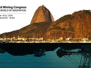 WORLD MINING CONGRESS TEM NOVA PROGRAMAÇÃO TÉCNICA (CONGRESSO MUNDIAL DA MINERAÇÃO NO BRASIL)