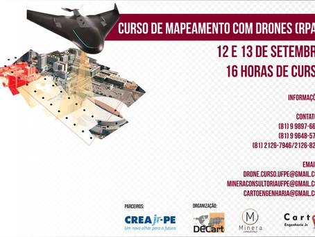CURSO DE MAPEAMENTO COM DRONE (RPA), GERAÇÃO DE PRODUTOS FOTOGRAMÉTRICOS