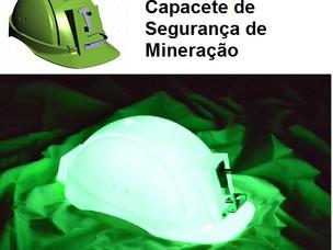 NOVO CAPACETE DE SEGURANÇA TECNOLÓGICO DE MINERAÇÃO