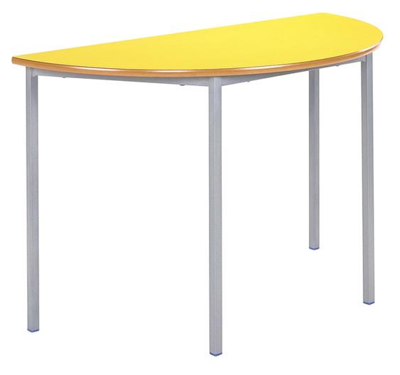 Fully Welded Table - Semi-Circular