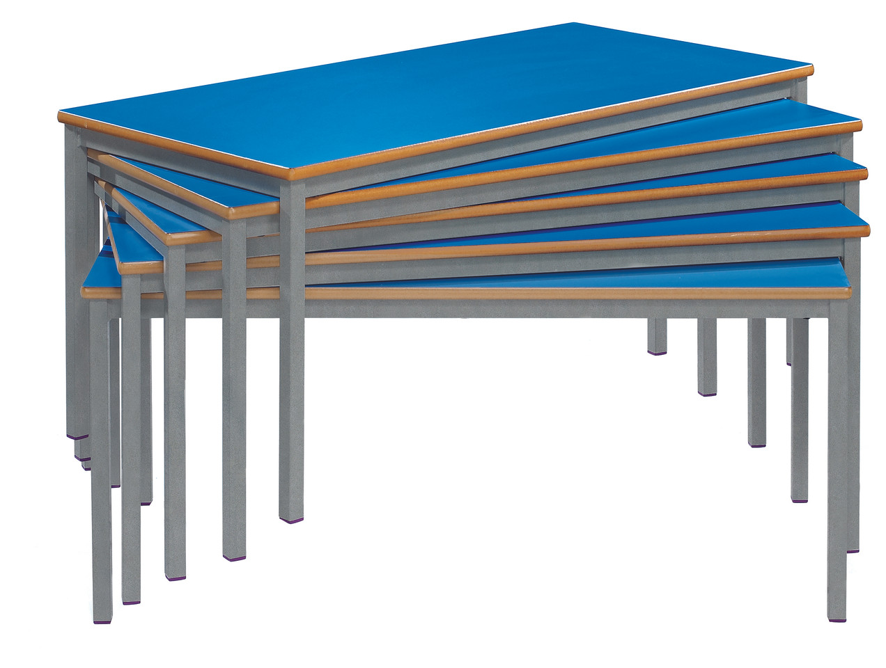 Fully Welded Tables Stacked