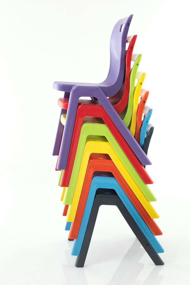 Titan Chairs Stacked