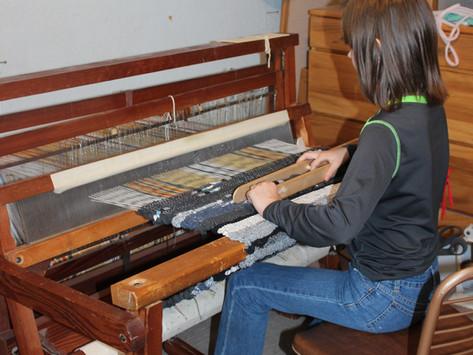 Grandma's Rug Loom