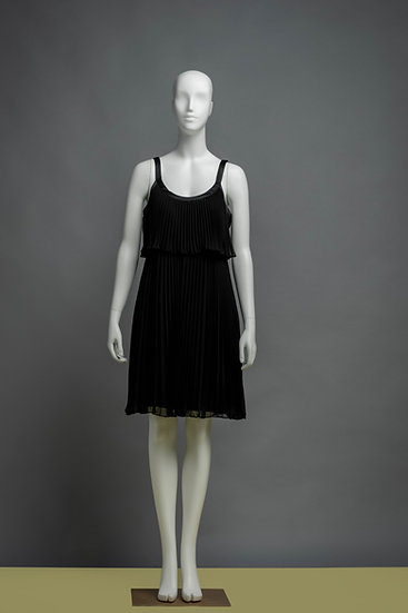 The Little Pleated Black Dress