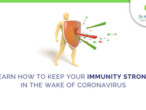 Learn how to keep your immunity strong in the wake of coronavirus