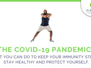 The COVID19 Pandemic - ( Part 2 of 5 ) : What you can do for immunity, health and protection.