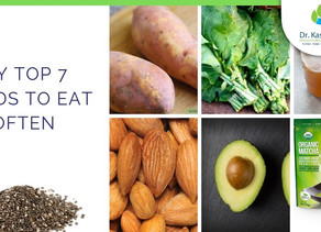My top 7 foods to eat often