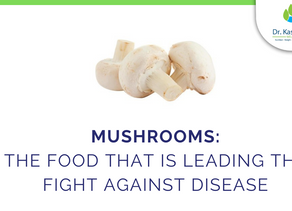 Mushrooms: The food that is leading the fight against disease