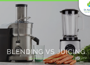Blending vs Juicing. Which is better?