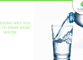 10 REASONS WHY YOU NEED TO DRINK MORE WATER