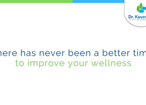 There has never been a better time to improve your wellness.
