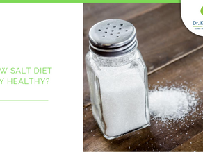 Is a low salt diet really healthy? And does salt really cause high blood pressure?