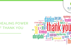 The healing power of thank you.