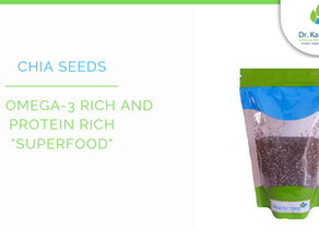 """The omega-3 rich and protein rich """"superfood"""""""