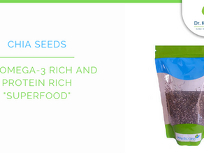 "The omega-3 rich and protein rich ""superfood"""