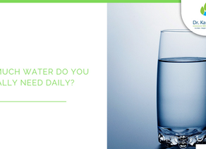 How much water do you really need daily?