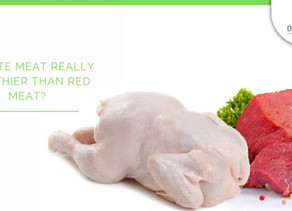 Is white meat really healthier than red meat?