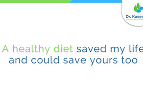 A healthy diet saved my life and could save yours too.