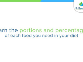 Learn the proportions and percentages of each food you need in your diet