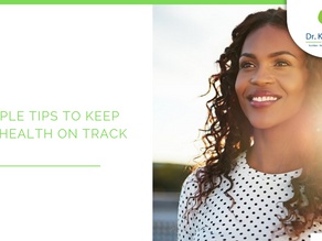 5 simple tips to keep your health on track