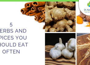 5 herbs and spices you should eat often