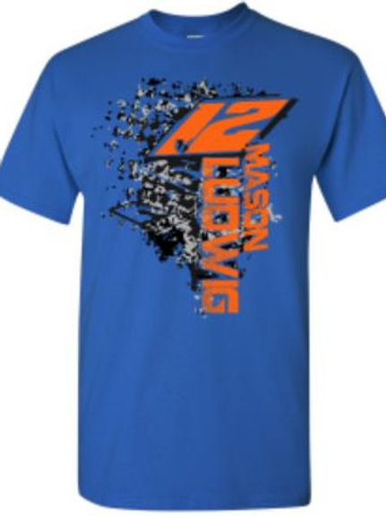 MLR Chase Tee - Royal Blue