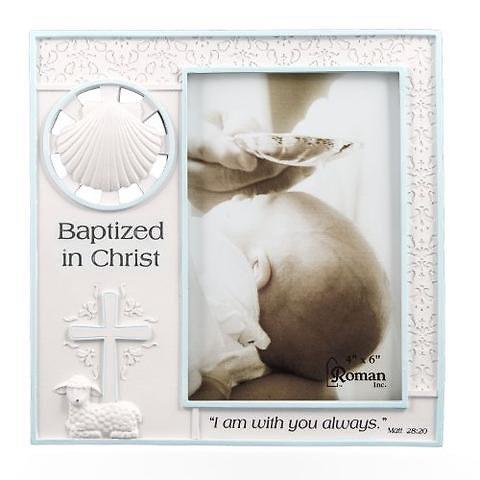 Baptism Girl Frame 4x6