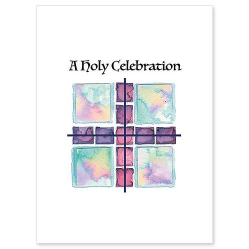 A Holy Celebration on Your Profession of Faith/RCIA Card