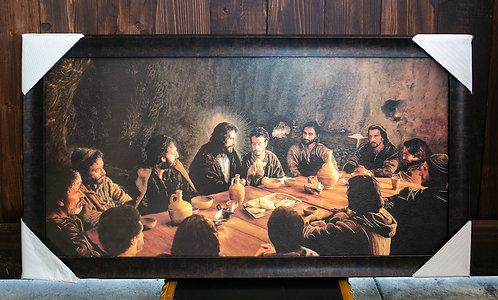 Last Supper (Passion of the Christ), Framed