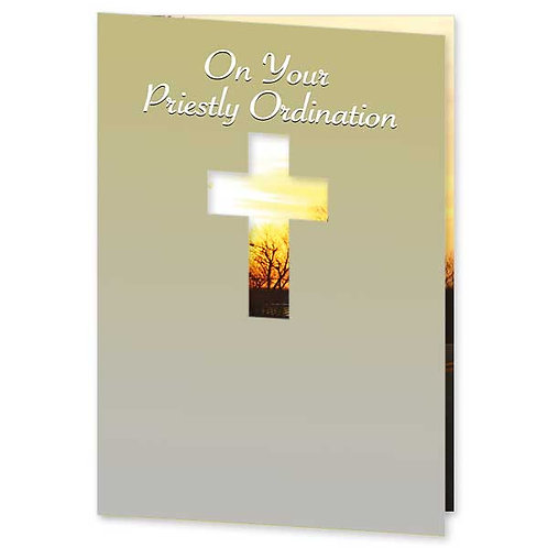 On Your Priestly Ordination/ Congratulations Card