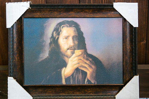 Jesus Chalice, Framed
