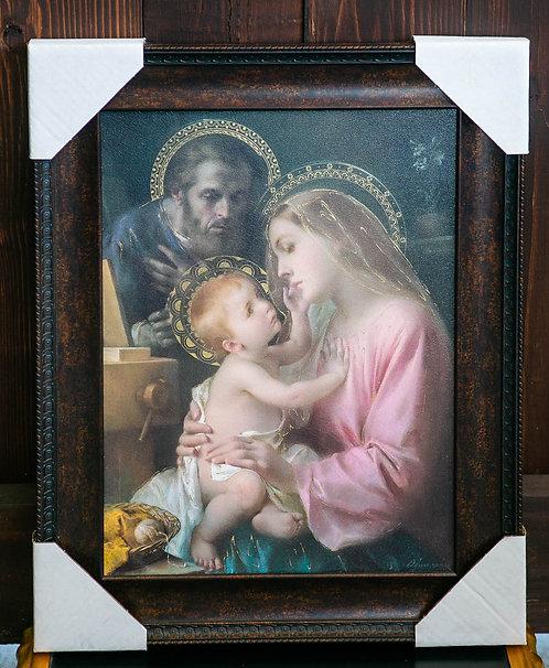 Holy Family, Framed