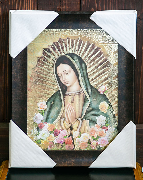 Our Lady of Guadalupe Bust, Frame