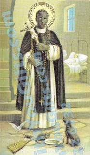 St. Martin de Porres Holy Card