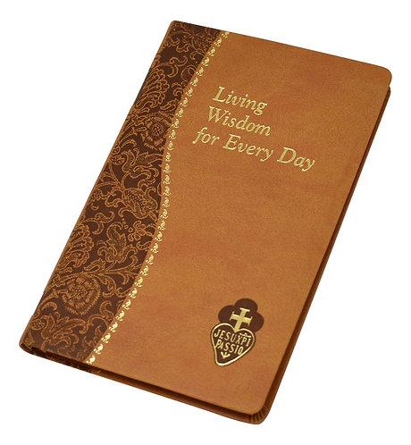 Living Wisdom For Every Day/Minute Meditations, Saint Paul, Tan