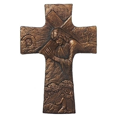 Christ Carrying Cross Wall Cross