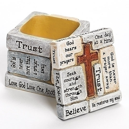 Crossword Trinket Box