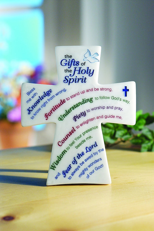 Gifts of the Holy Spirit Table Cross