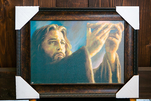 Jesus Bread, Framed