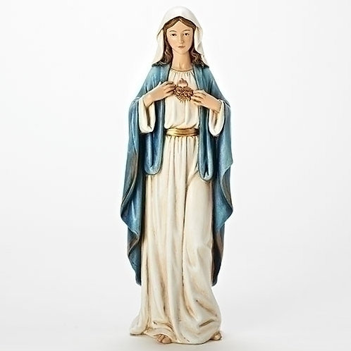 "Immaculate Heart Mary Figure, 6"" or 17"""