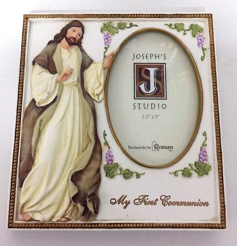First Communion Jesus Frame, 3.5x5 Photo