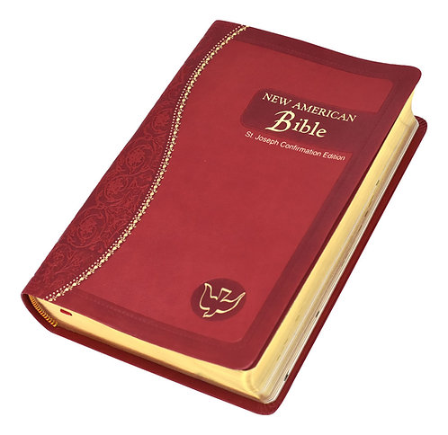 St. Joseph NABRE Bible (Confirmation Edition - Medium), Red